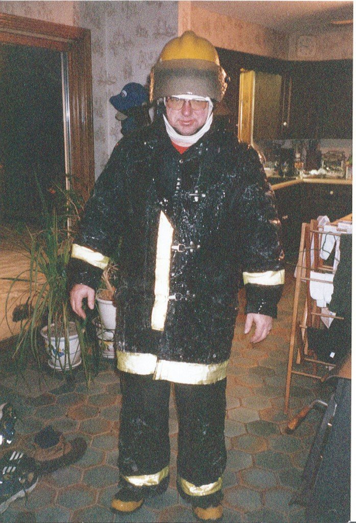 HIGH HONOR: David Dixon is shown in this undated photo. Whitefield will dedicate its new fire and rescue station to Dixon at noon Saturday. Dixon, who died in 2009, was a volunteer firefighter for more than 30 years and helped draft the plans for the new station.
