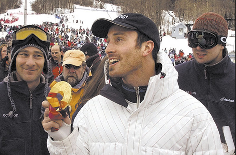 LEVEL FIELD: Olympic gold medalist Seth Wescott is Maine's ambassador for the Level Field Fund, a nonprofit program that provides grants to athletes in need of financial assistance.