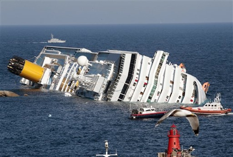 Three Dead 40 Still Missing After Cruise Ship Crashes In