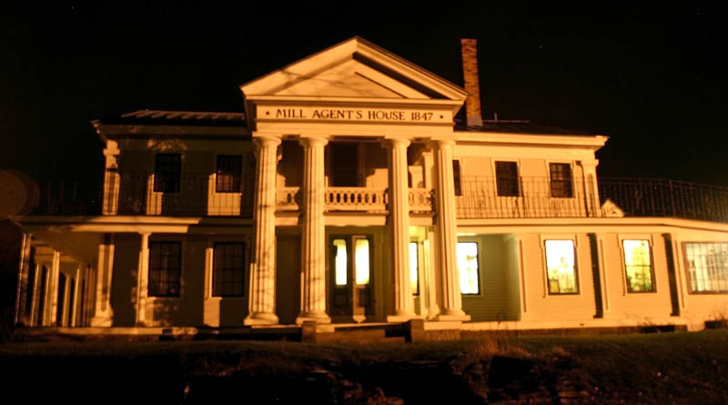 The Mill Agent's House in North Vassalboro is haunted, says owner Ray Breton.