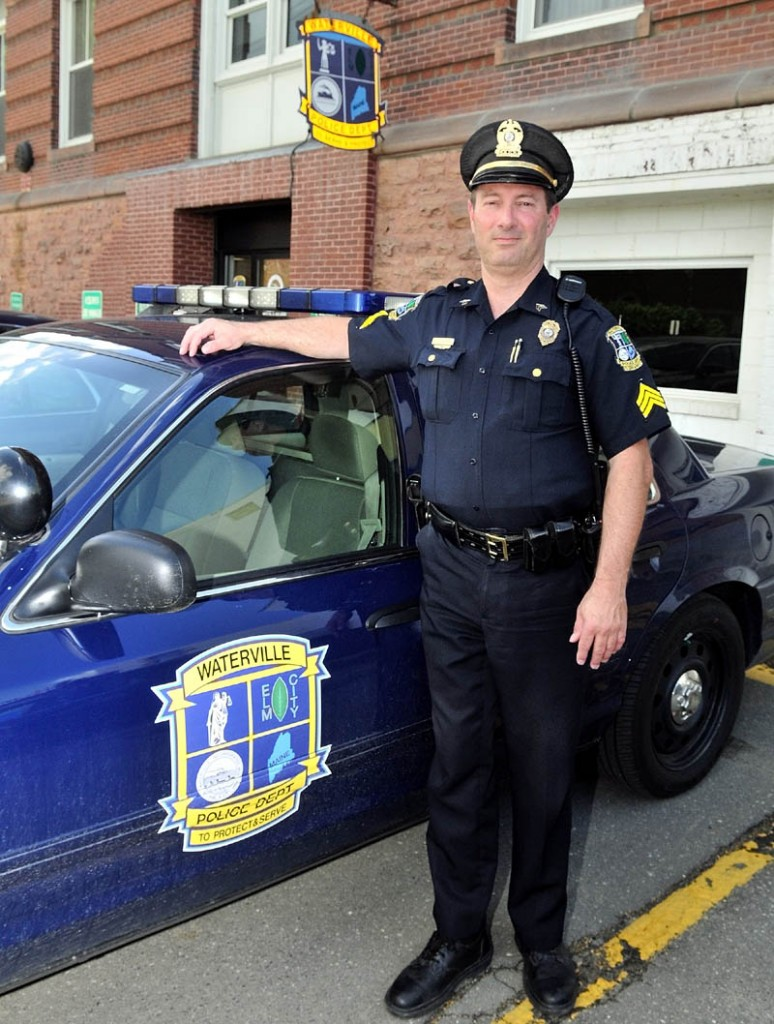 MOVING ON: After 31 years with the Waterville Police Department, Sgt. Joe Shepherd is leaving the force this week.