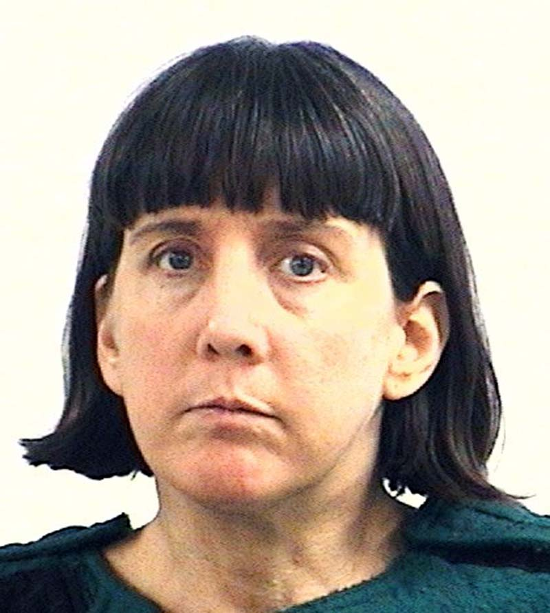 his Feb. 13, 2010, file booking photo provided by the Huntsville, Ala., Police Department shows college professor Amy Bishop, charged with capital murder in the Feb. 12, 2010 shooting deaths of three faculty members at the University of Alabama in Huntsville. Bishop pleaded guilty to capital murder charges in an agreement that will send to her prison for the rest of her life and make her ineligible for the death penalty. A judge scheduled jury selection for Monday, Sept. 24, 2012, as a trial is still required under Alabama law because Bishop admitted to a capital charge of murder.