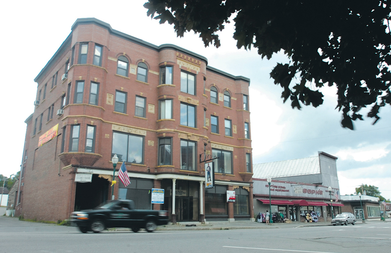 Developers plan to convert the Gerald Hotel building at 177 Main St., in Fairfield, into apartments for the elderly.