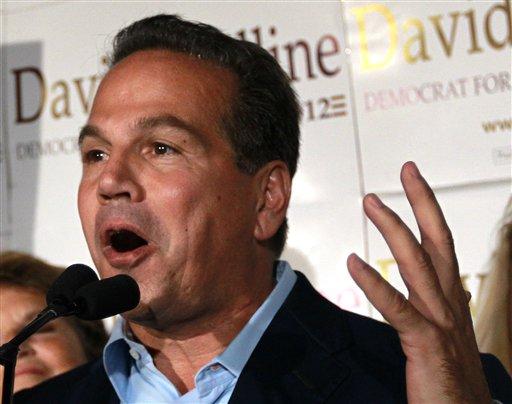 Rep. David Cicilline, D-R.I. speaks in Providence, R.I., in this Sept. 11, 2012, photo,