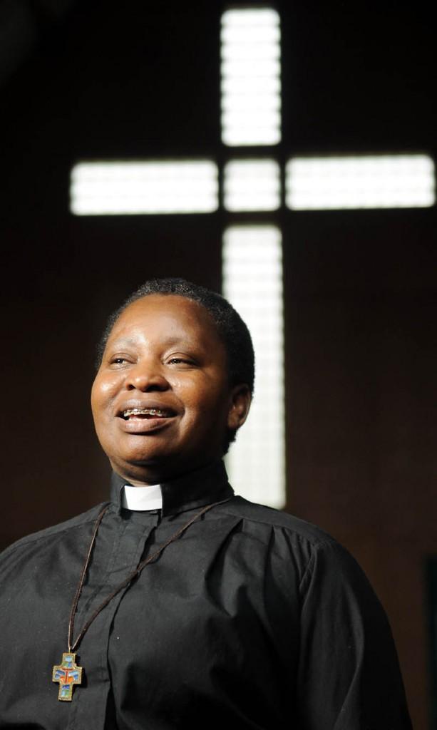 The Rev, Tsitsi Nakoma Moyo is the new reverend at Randolph United Methodist Church and at the East Pittston United Methodist Church.