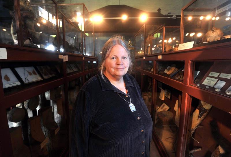 Deborah Staber, L.C. Bates Museum curator.