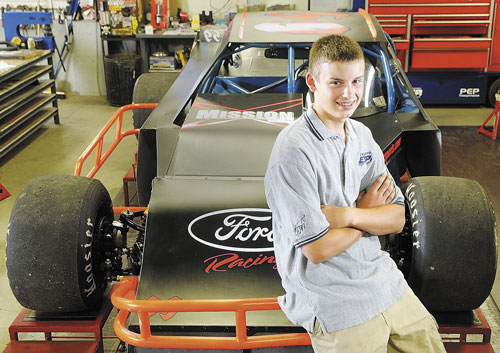 PACKING UP: Reid Lanpher, 14, has been hired by Dale Earnhardt Jr.'s team, JRM Motorsport, to race a Late Model next year at Motor Mile Speedway in Radford, Va.