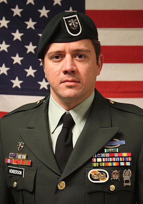 Army Sgt. 1st Class Aaron Henderson