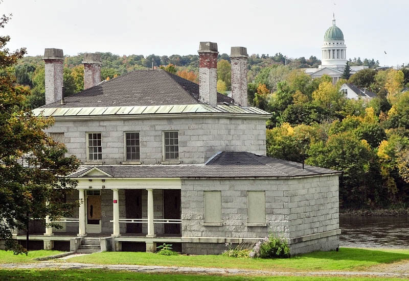 The Kennebec Arsenal is across the Kennebec River from the State House in Augusta.