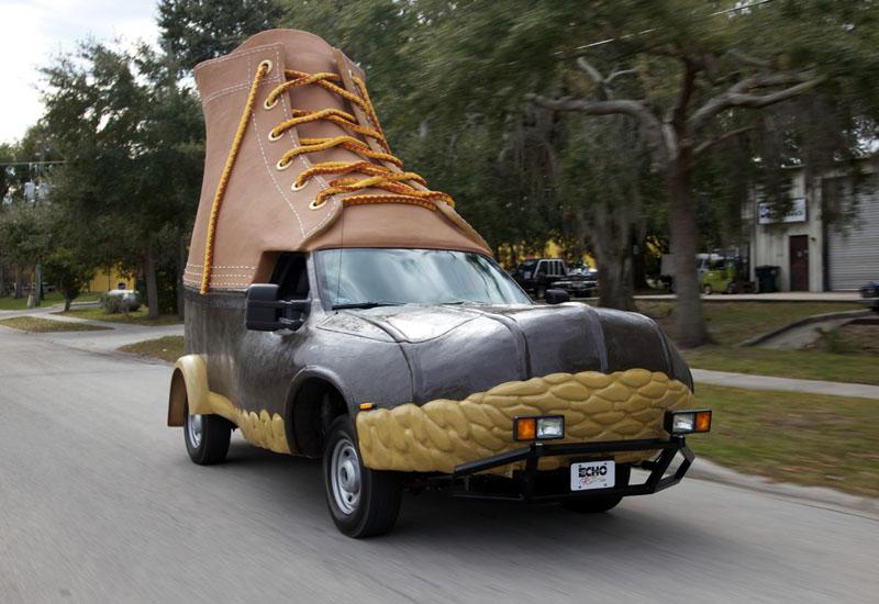 L.L. Bean's Bootmobile