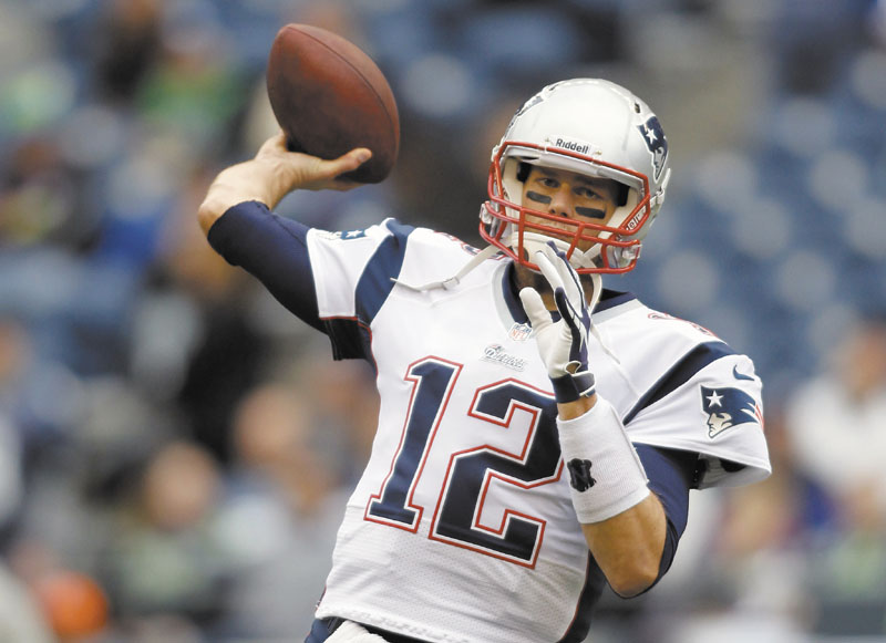 THEY ARE WHAT THEY ARE: Quarterback Tom Brady said the New England Patriots are 3-3 because they haven't played well enough to have a better record. NFLACTION12;