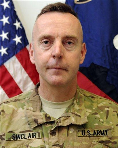 U.S. Army Brig. Gen. Jeffrey A. Sinclair.