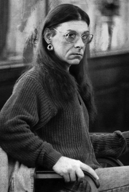 In this 1993 photo, Robert Kosilek, aka Michelle Kosilek, sits in Bristol County Superior Court, in New Bedford, Mass.