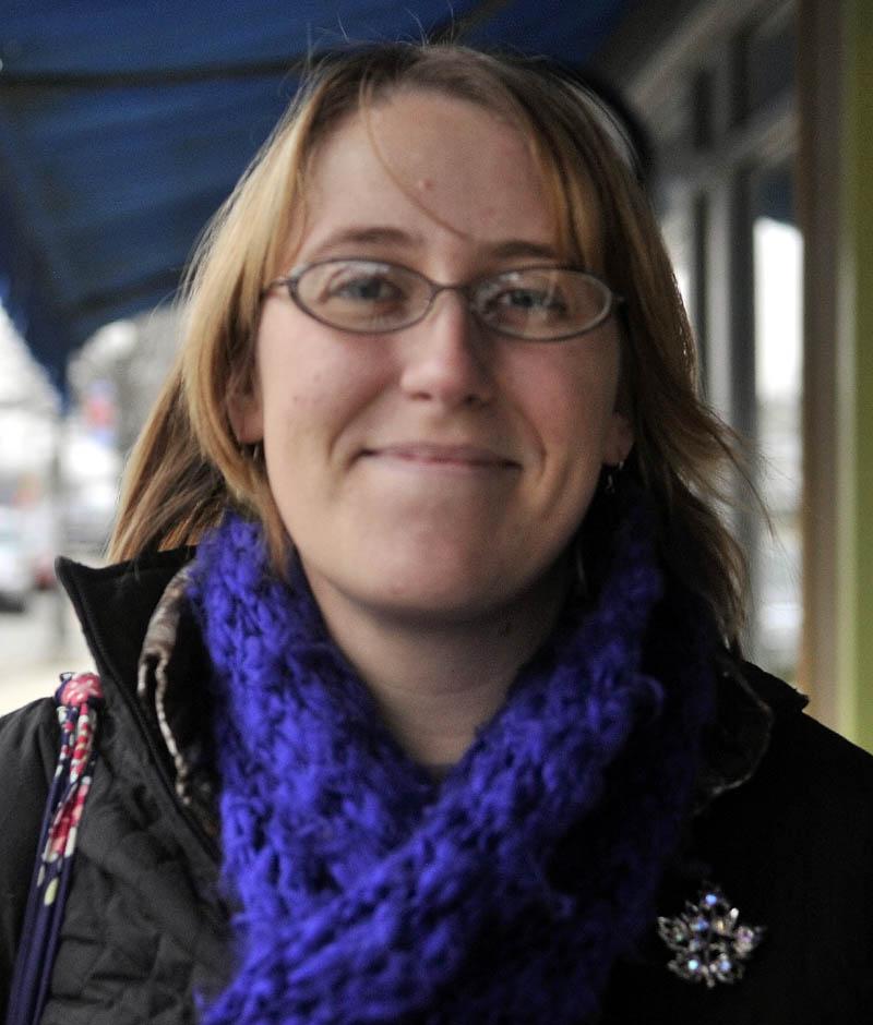 Emily Haga, 28, of Waterville.