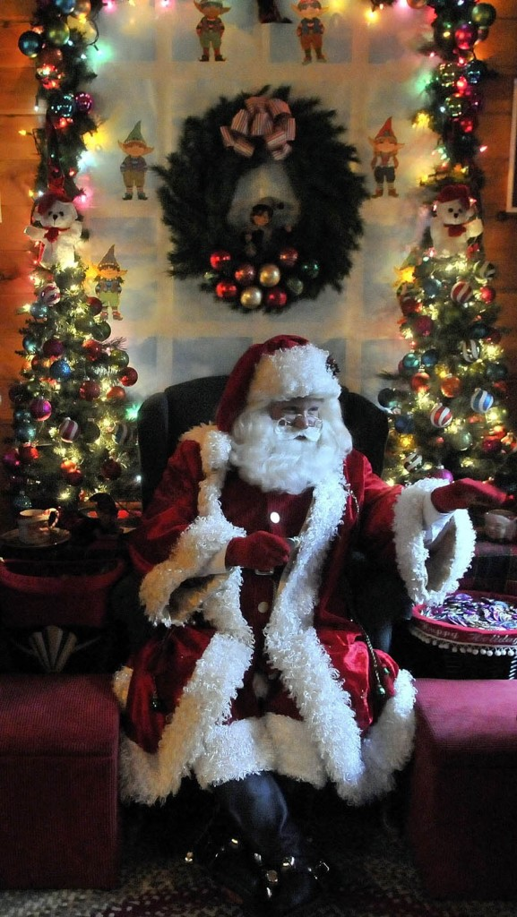 Santa Claus says