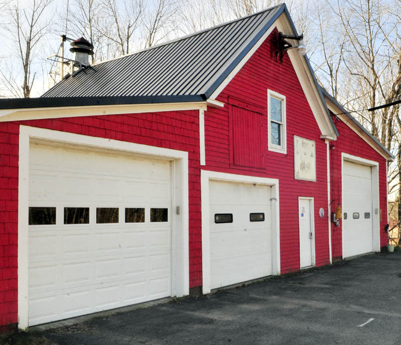 There are plans to replace this old fire station with a new one nearby in Coopers Mills section of Whitefield.