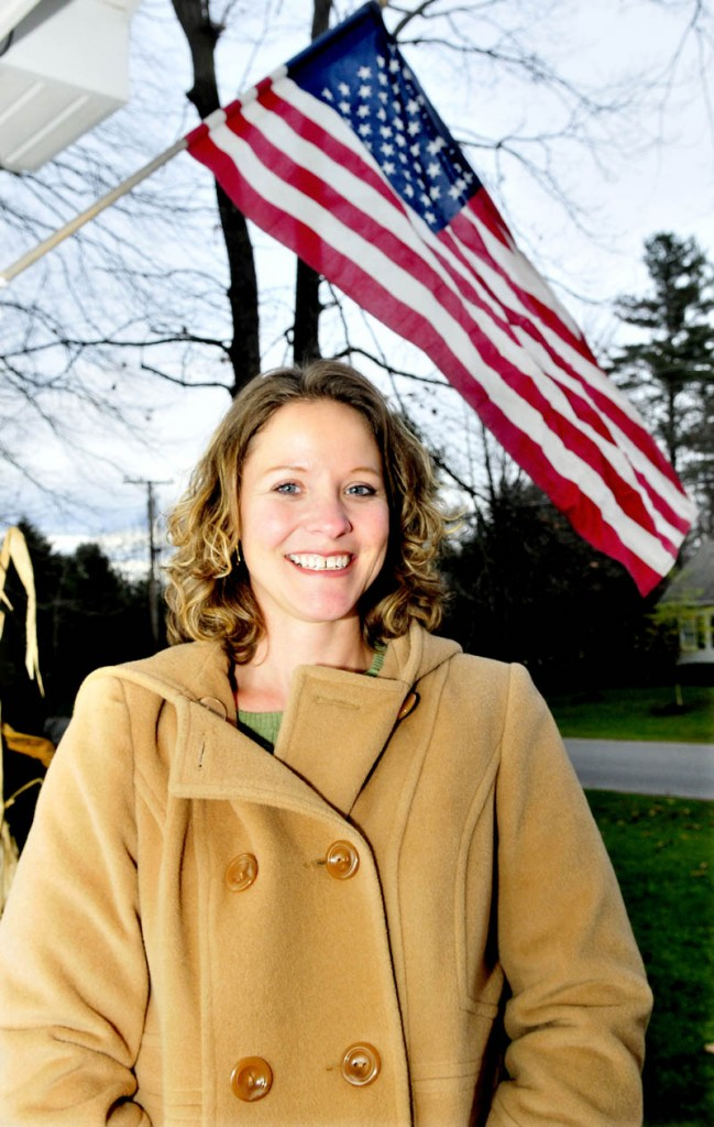 Angie Carlson, of Winslow, is retired from the U.S. Air Force. Carlson said she hopes people turn out this Veterans Day to show their appreciation for men and women who have served in the military.