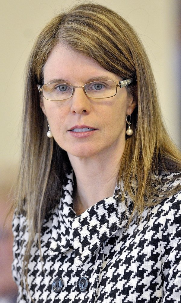 Mary Mayhew, commissioner of the Maine Department of Health and Human Services