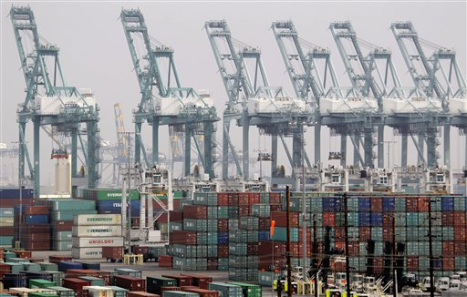 Operations were at a standstill until late Tuesday at the Port of Los Angeles.
