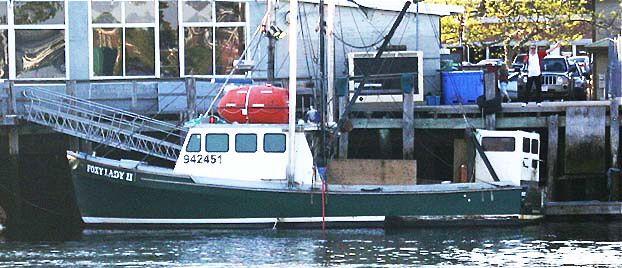 Undated photo of Foxy Lady II provided by the U.S. Coast Guard.