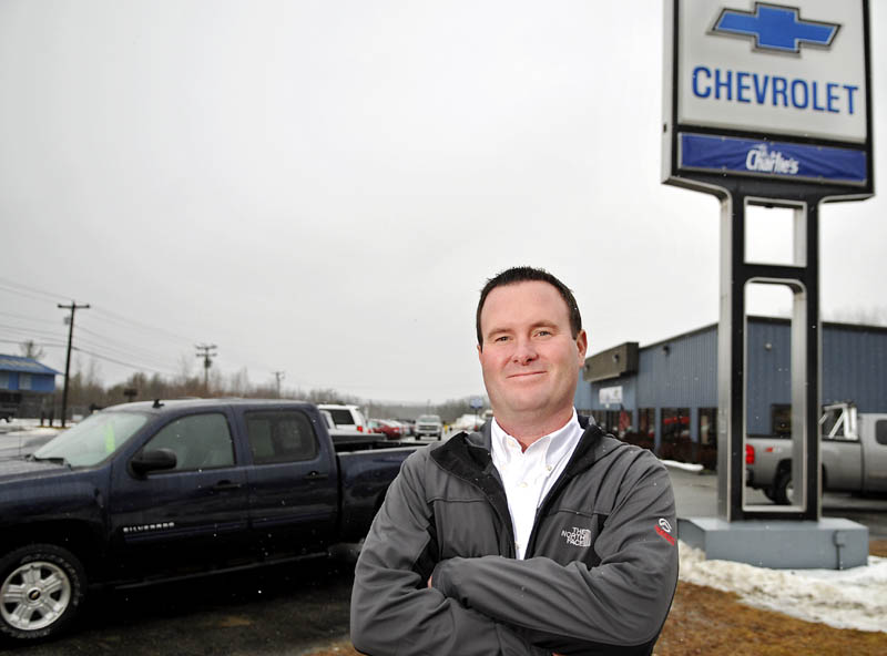 Charlie 39 s buys bob barrows chevrolet in winthrop central for Charlie s motor mall augusta me
