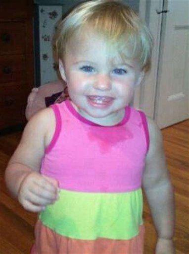 An undated photo of missing toddler Ayla Reynolds.