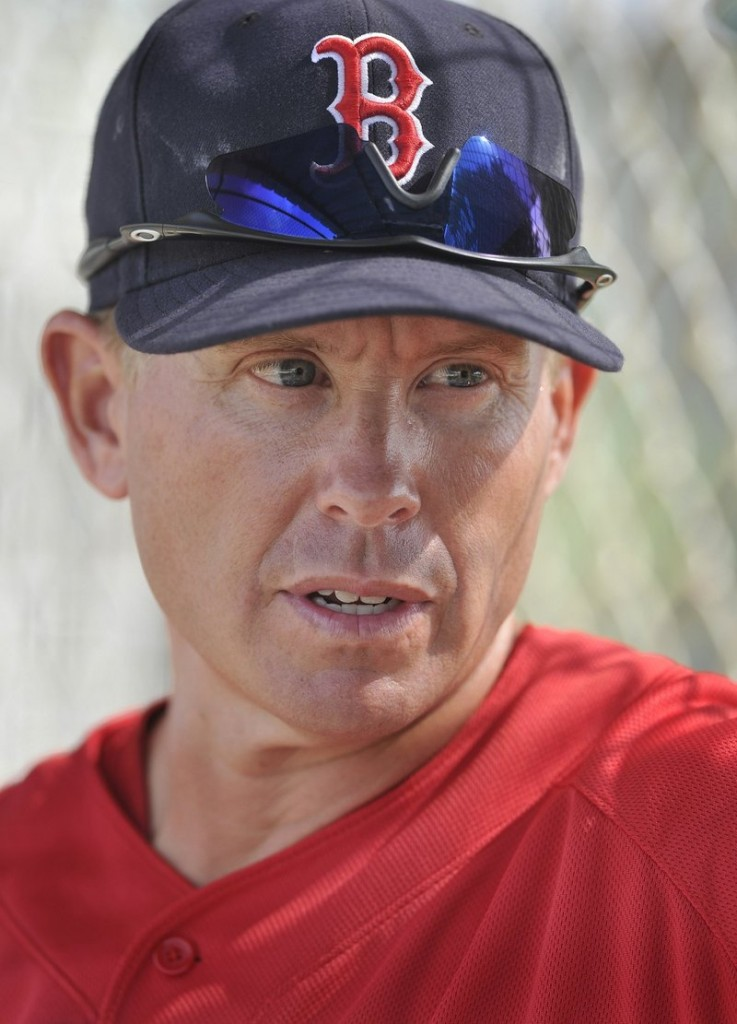 Sea Dogs Manager Kevin Boles.