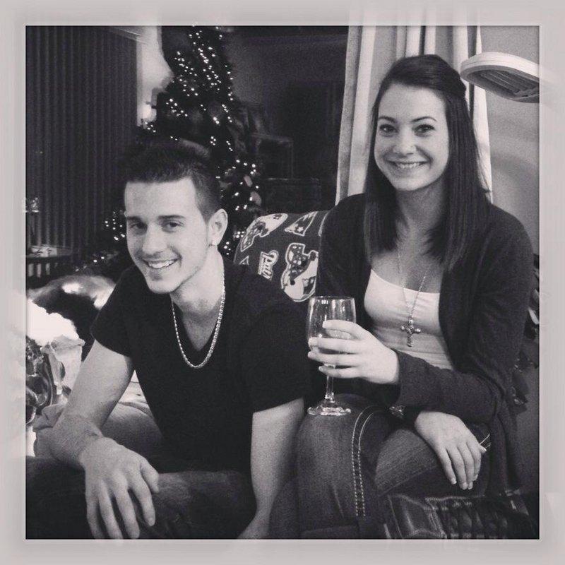 Derrick Thompson, 19, left, and Alivia Welch, 18, were killed Monday in Biddeford.