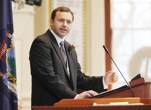 Newly-elected Speaker of the House Mark Eves, D-North Berwick
