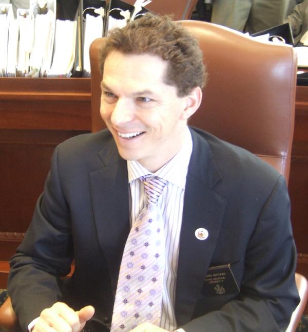 State Senate President Justin Alfond, D-Portland