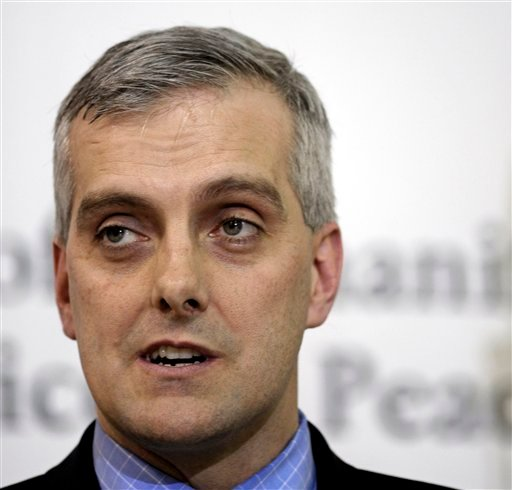 A March 6, 2011, photo of then-Deputy National Security Adviser Denis McDonough speaking in Sterling, Va.