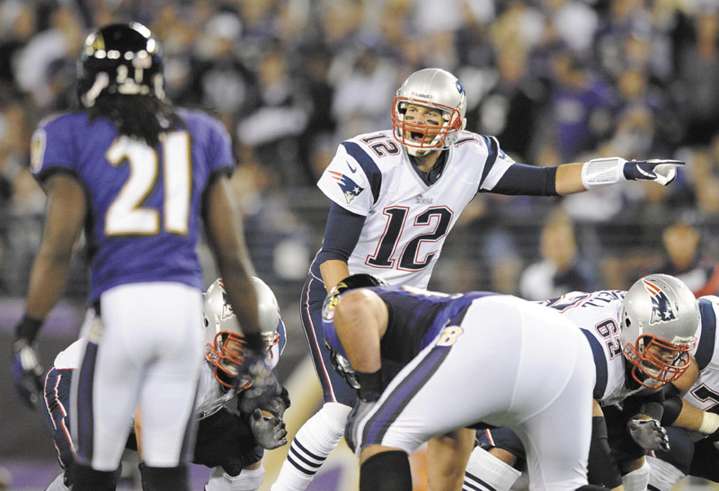 "FOLLOW ME: New England Patriots quarterback Tom Brady is one of the key components of ""The Patriots Way.,"" according to his teammates. Brady's work ethic and leadership abilities have earned him the respect of his teammates."
