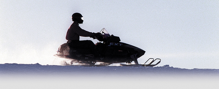 Staff file photo by David Leaming Staff file photo Snowmobilers are being urged to use caution, especially around early season hazards, such as unstable ice.