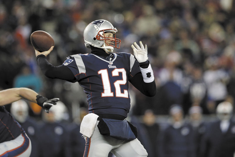 FIGHTING FATHER TIME: New England Patriots quarterback Tom Brady said every playoff opportunity is important. Brady was 24 years old when he won his first Super Bowl. He's now 35 and hasn't won a title in seven seasons