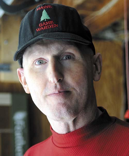 Maine Warden Service Maj. Gregg Sanborn