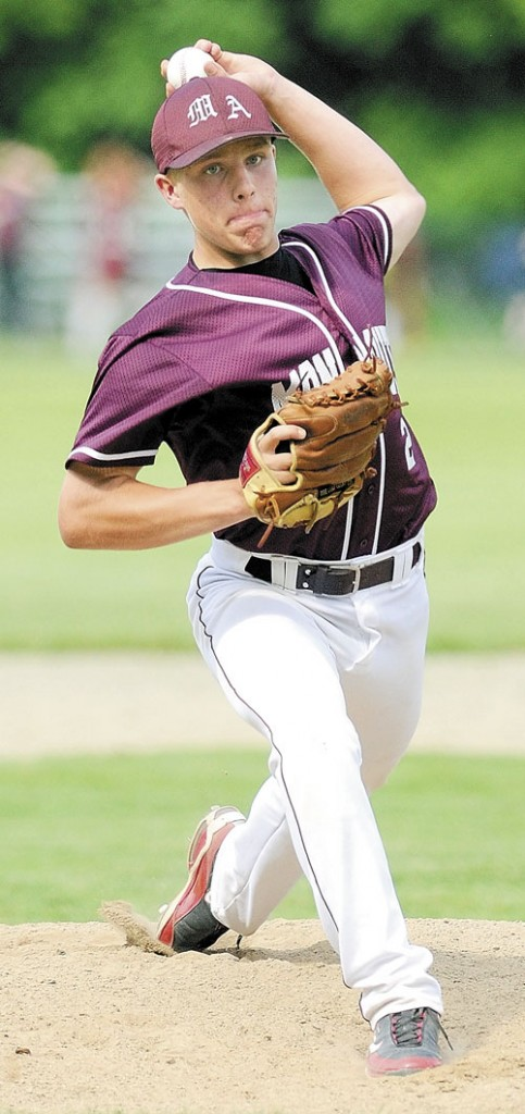 MAKING DREAMS: Monmouth Academy junior Kyle Fletcher quaiified recently to play in two all-star baseball games this summer.