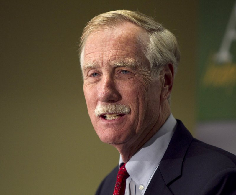 """Sen. Angus King commenting on gun control on CNN's """"State of the Union"""": """"I think what we really need to do is focus on what will really work, and to me that is universal background checks, and perhaps limits on magazine size."""""""