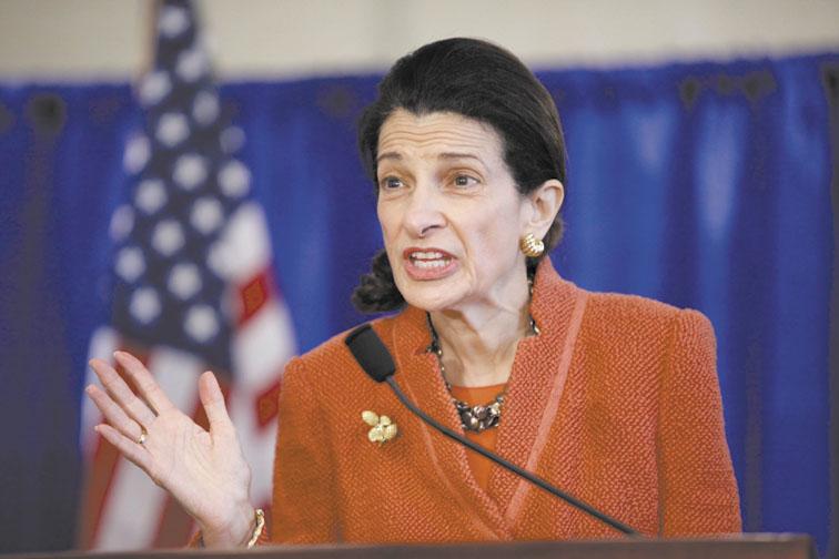 Former U.S. Sen. Olympia Snowe