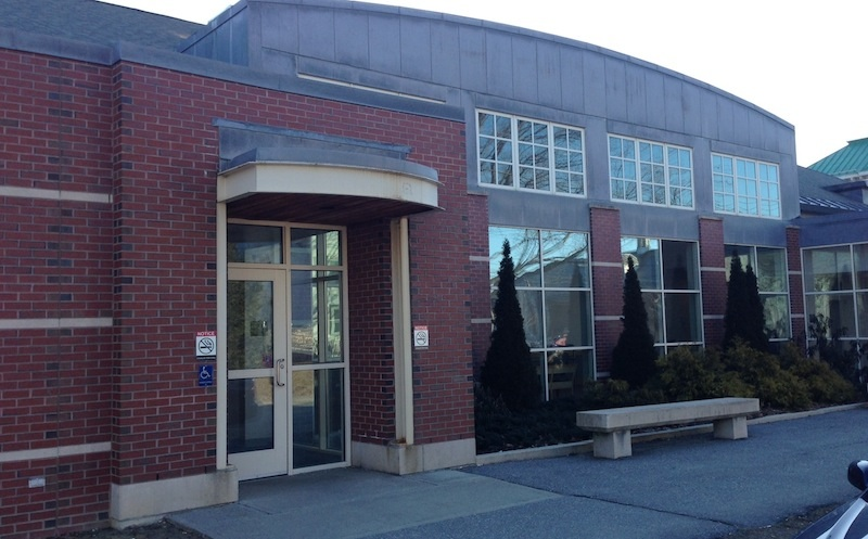The Skowhegan District Court building, where the closed competency hearing for Kelli Murphy, of Fairfield, was Friday morning. A Morning Sentinel news photographer was additionally excluded from the building by a court official who said it was their policy to not allow photography in the hallways.