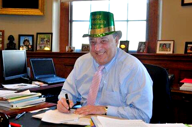 The Governor's Office tweeted this photo on Friday of Gov. Paul LePage signing into law a bill that lifts the ban on selling alcohol between 6 and 9 a.m. on Sundays when St. Patrick's Day falls on a Sunday.