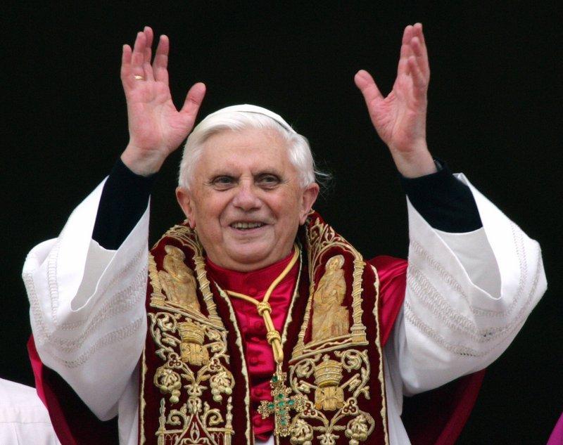Pope Benedict XVI in 2005