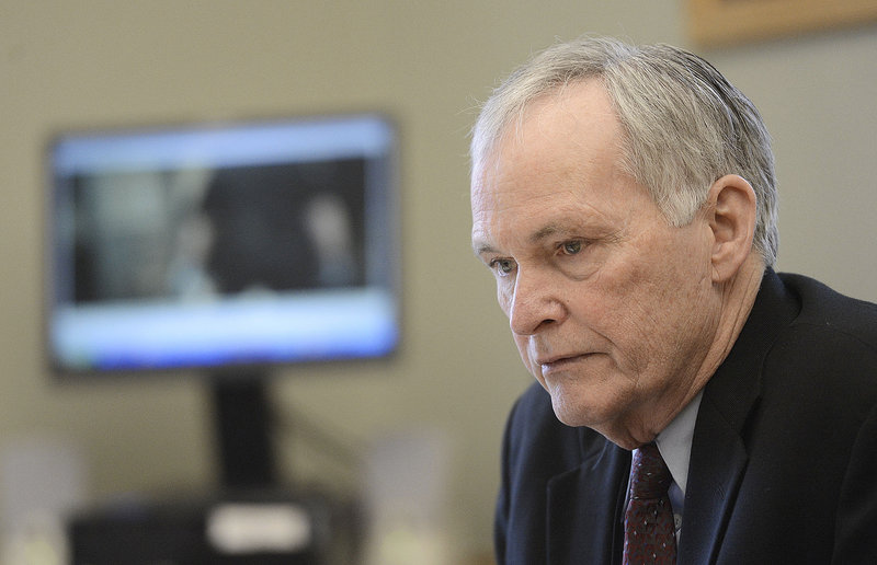 Joseph Ponte, state corrections commissioner, said his decision to reinstate Capt. Shawn Welch weighed Welch's inappropriate behavior in the incident involving Paul Schlosser against Welch's otherwise clean work record.