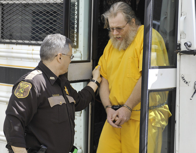 Gary A. Irving arrives at Cumberland County Unified Criminal Court on Friday after nearly 35 years on the lam.