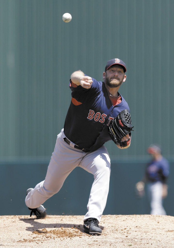 FINALE TUNE-UP: Boston starting pitcher Ryan Dempster allowed three earned runs on three hits, while walking three and striking out four in four innings of work of the Red Sox' 8-3 loss to the Minnesota Twins in a spring training game Friday in Fort Myers, Fla.