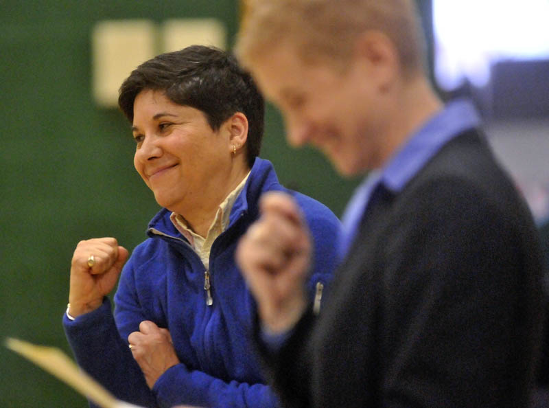 Marisa Weinstein, music teacher at Warsaw Middle School, is the recipient of the Maine Music Educators Association Educator of the Year award.