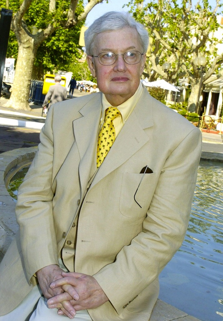 This May 17, 2004 file photo shows Pulitzer Prize winning film critc Roger Ebert at the 57th International Film Festival in Cannes, southern France. The Chicago Sun-Times is reporting that its film critic Roger Ebert died on Thursday, April 4, 2013. He was 70. (AP Photo/Michel Euler, file)