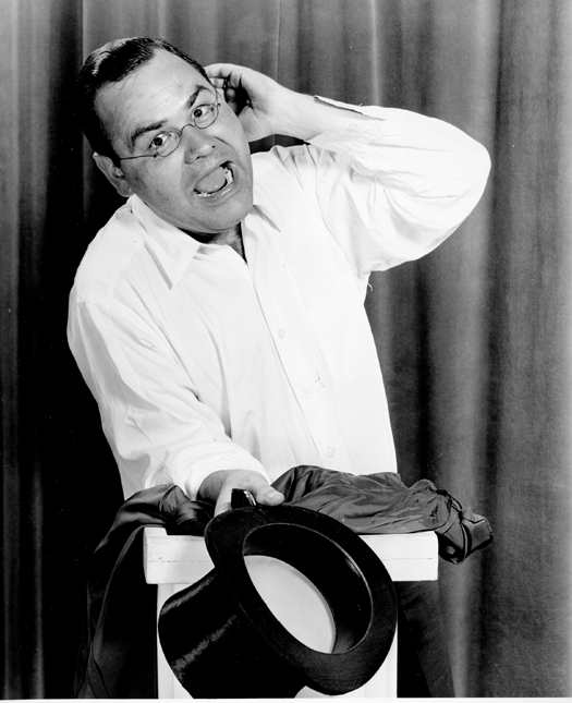 Comedian Jonathan Winters is shown in Hollywood, Ca., Aug. 12, 1955.