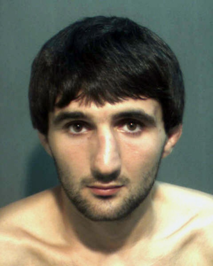 This May 4 police photo provided by the Orange County Corrections Department in Orlando, Fla., shows Ibragim Todashev after his arrest on a charge of aggravated battery in Orlando.
