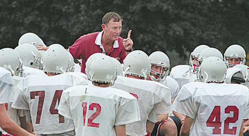 LISTEN TO ME: John Wolfgram will be inducted into the Maine Sports Hall of Fame today at the Augusta Civic Center. Wolfgram has coached football at Madison, Gardiner, South Portland and currently at Cheverus and has won 10 state championships.
