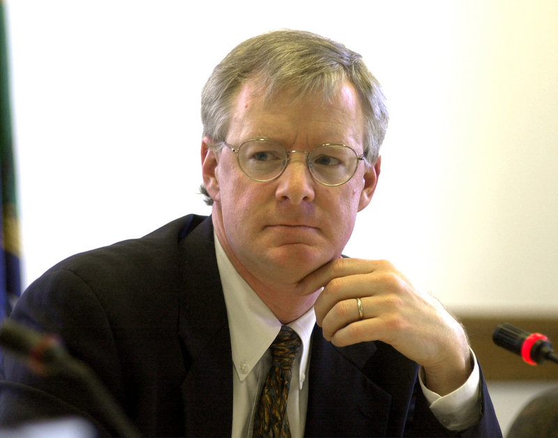 Independent state Sen. Dick Woodbury, a Harvard-trained economist from Yarmouth, is the architect of the tax overhaul plan now before the Maine Legislature.